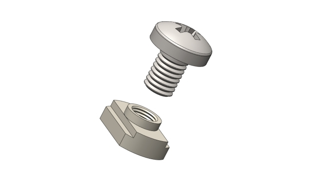 TOK 9832-M4 TOK 9832 Series - BEAM-Nut
